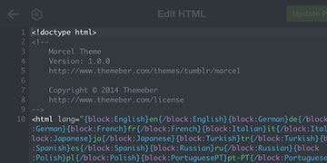 Screenshot of how to delete your current Tumblr theme code